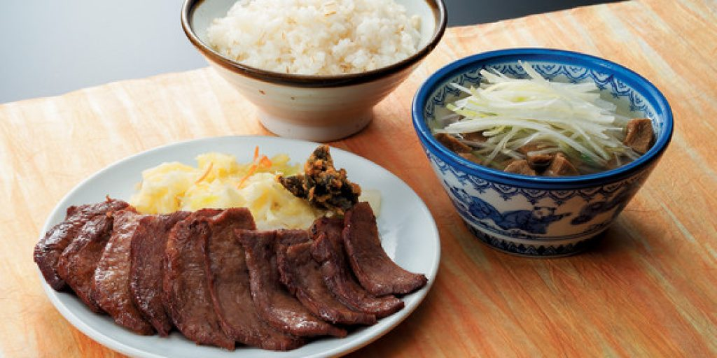 Ox tongue dishes are a specialty of Sendai.