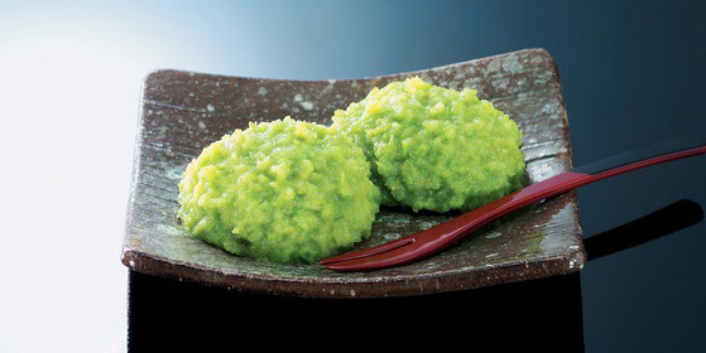 Zunda Mochi Edamame Rice Cake